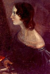 Retrato de Emily por su hermano Branwell
