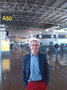 Aeropuerto de Bruselas, 17 de mayo de 2014