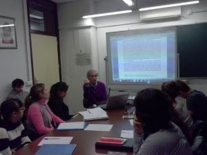 Seminario en la Facultad. Primer cuatrimestre, noviembre, 2013