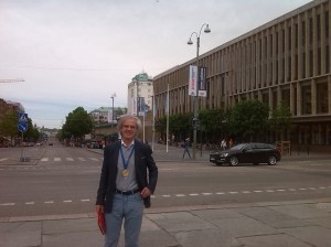 En Göteborg, domingo 18 de mayo de 2014