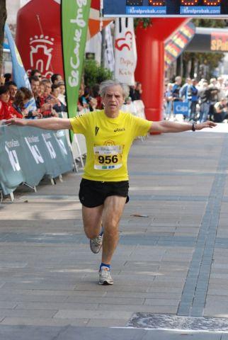 Imagen de la llegada del Medio Maratón, mayo 2011