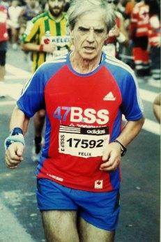 Imagen personal durante la carrera