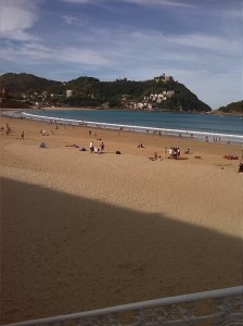 La playa de La Concha