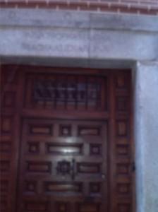 Puerta de la Casa-Museo Lope de Vega