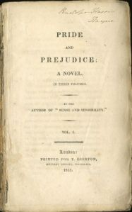 Portada de Pride and prejudice