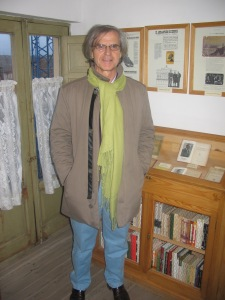 En la casa-mueseo de A. Machado en Segovia, en 2008
